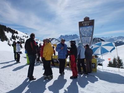 Ouverture du domaine skiable (selon conditions météo)