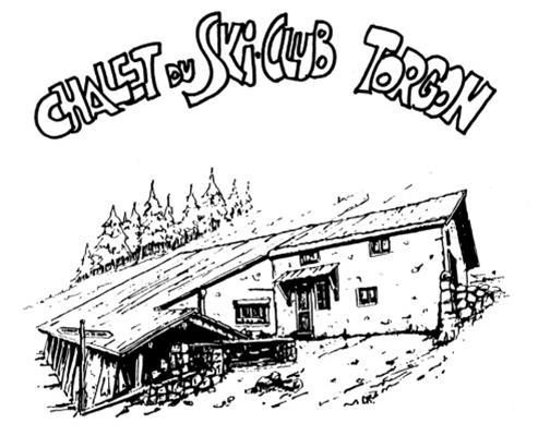 Soirée pleine lune au chalet de croix avec le ski club de Torgon