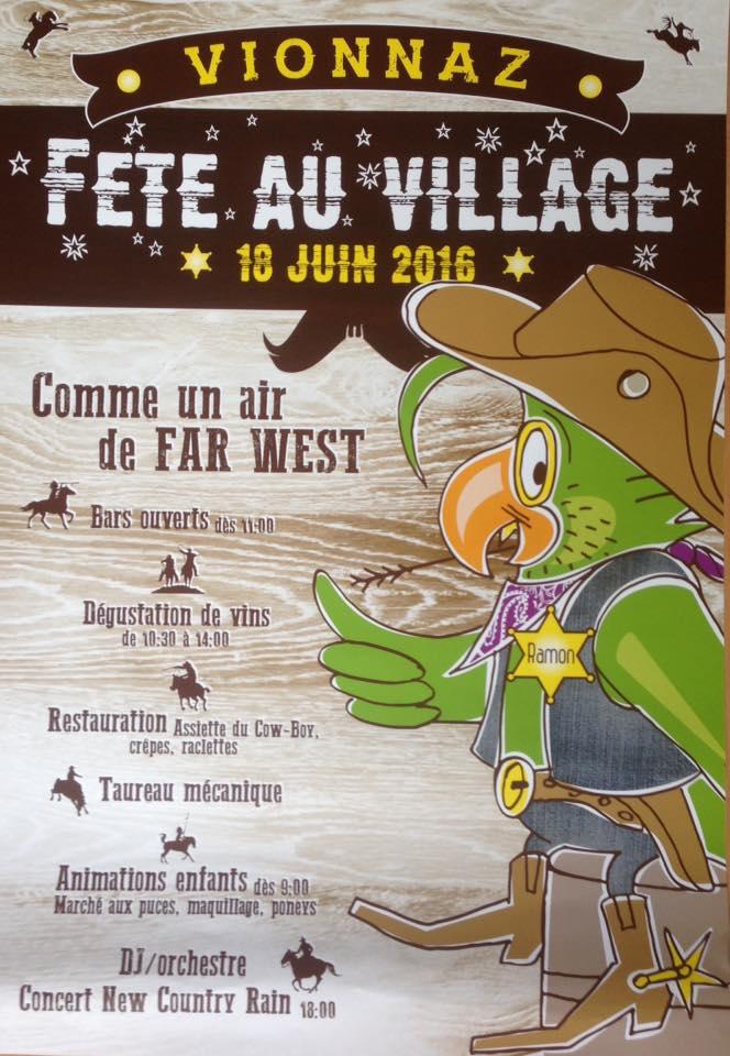 Fête au village de Vionnaz