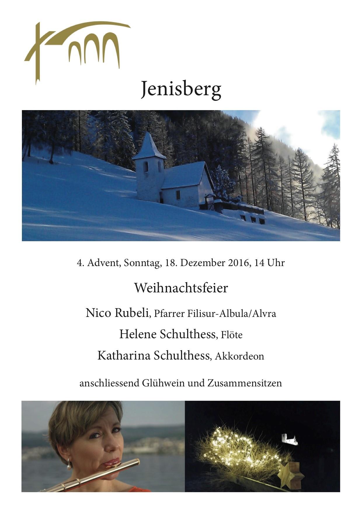 Weihnachtsfeier Jenisberg