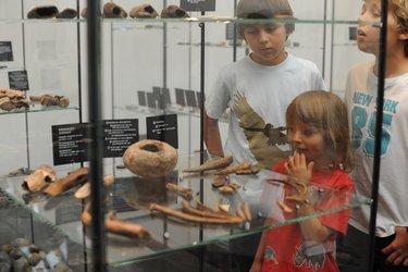 Mit Kindern im Museum